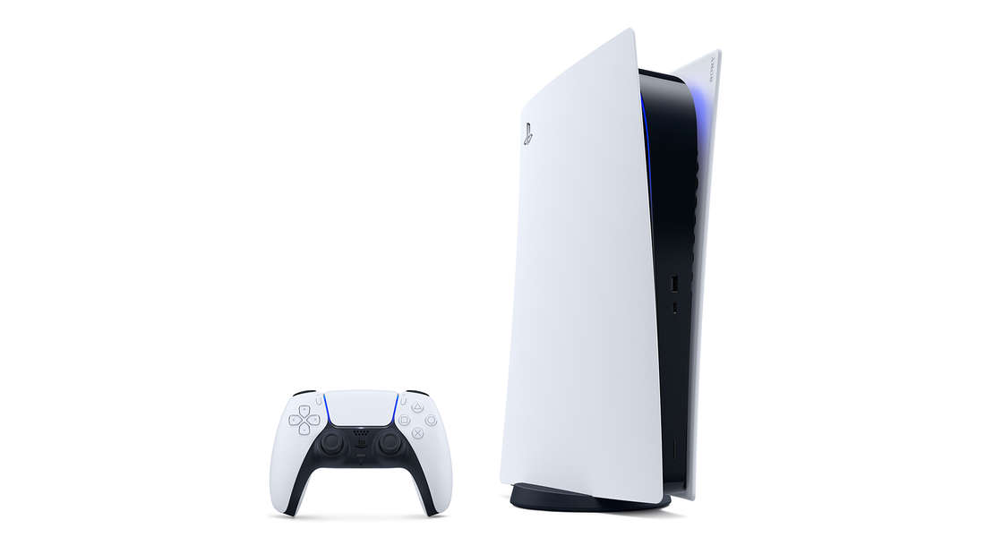 Die neue Playstation 5.