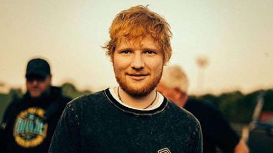 Ein Selfie von Ed Sheeran