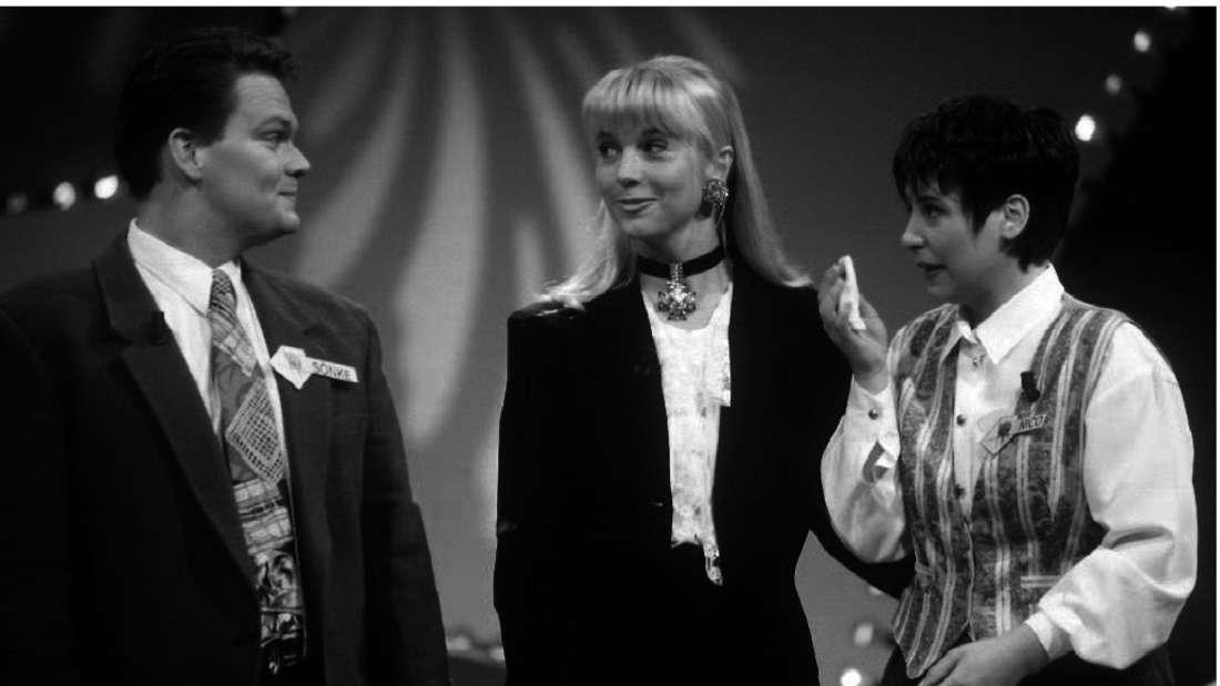 """RTL-Sendung """"Traumhochzeiten"""" vom 8.07.1995 mit Linde de Mol"""