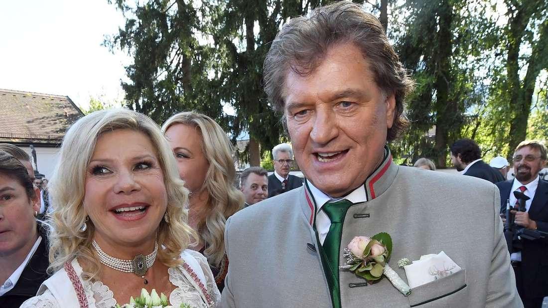 Marianne und Michael Hartl bei einem Fest