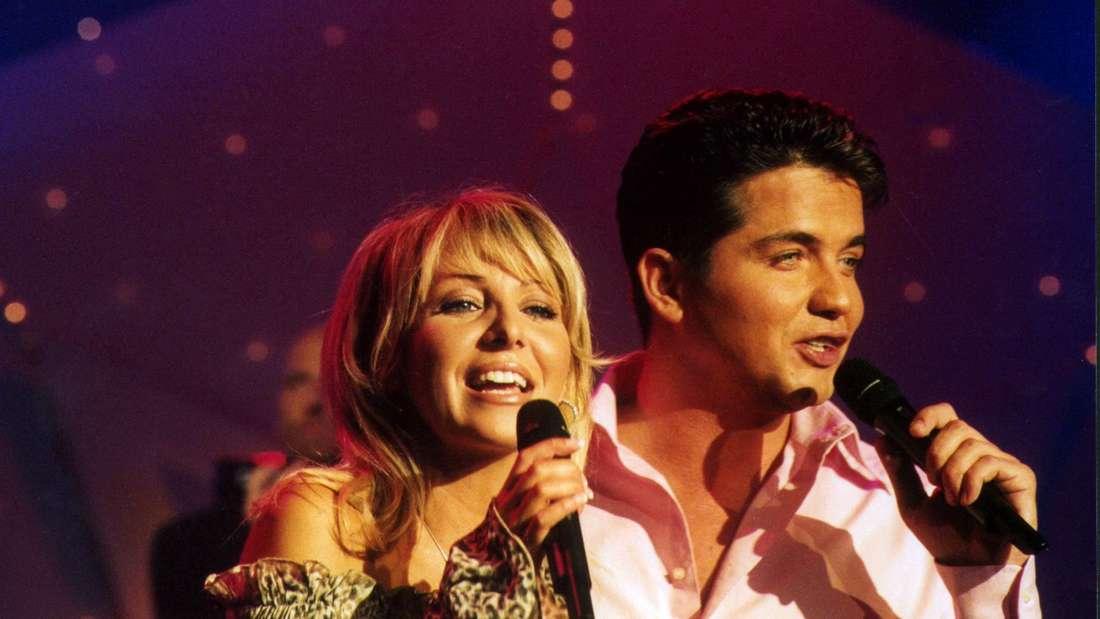 "Rosanna Rocci & Michael Morgan zusammen bei der ""NDR 90,3 Schlagernacht"" am 13.12.2002"