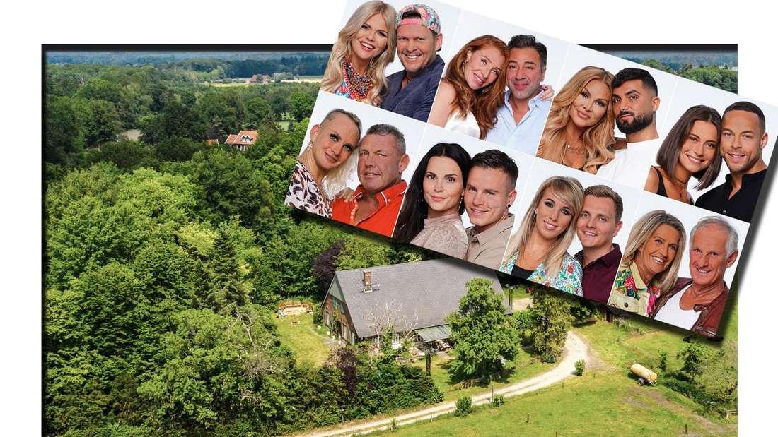 """""""Sommerhaus der Stars""""-Kandidaten vor der Villa in Bocholt"""