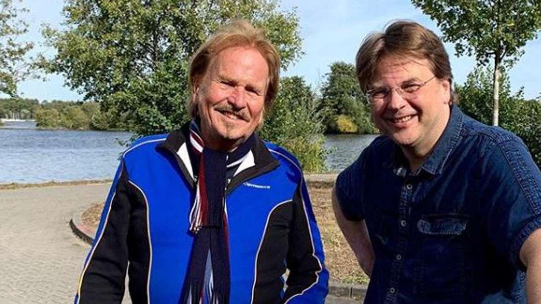 Frank und Marcus Zander bei einer Rad-Tour