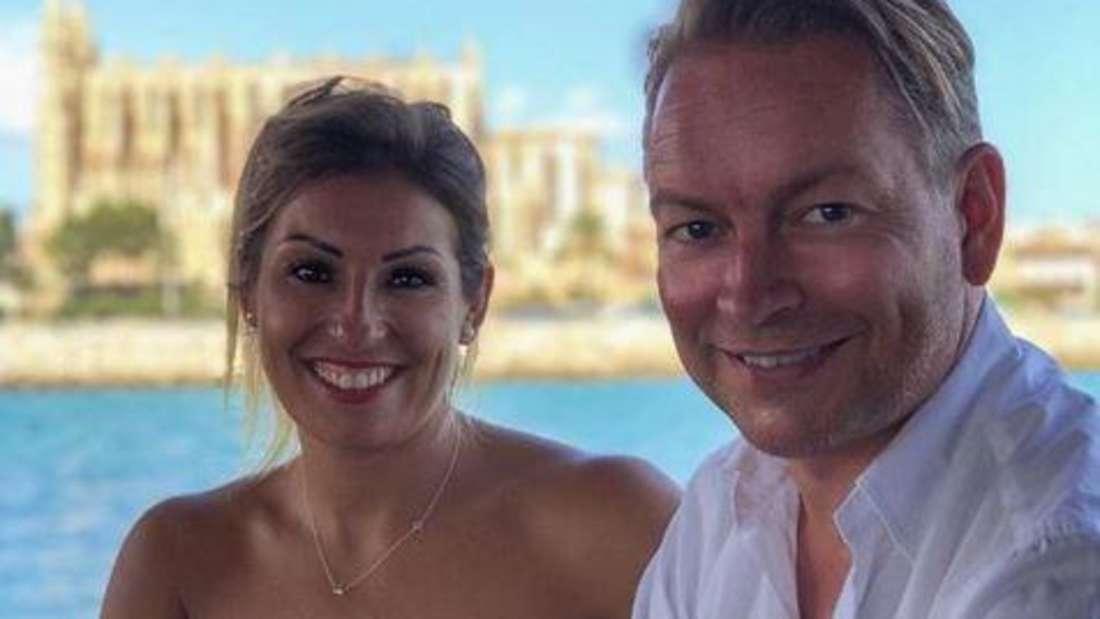Alina Langguth mit ihrem Partner Ralf