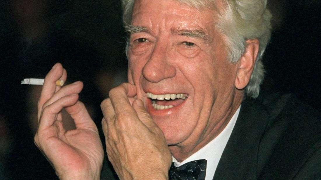 Kettenraucher Rudi Carrell starb an Lungenkrebs.