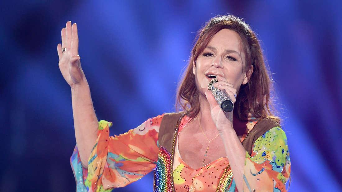 """Andrea Berg bei der Show """"Schlagerchampions – Das große Fest der Besten""""."""