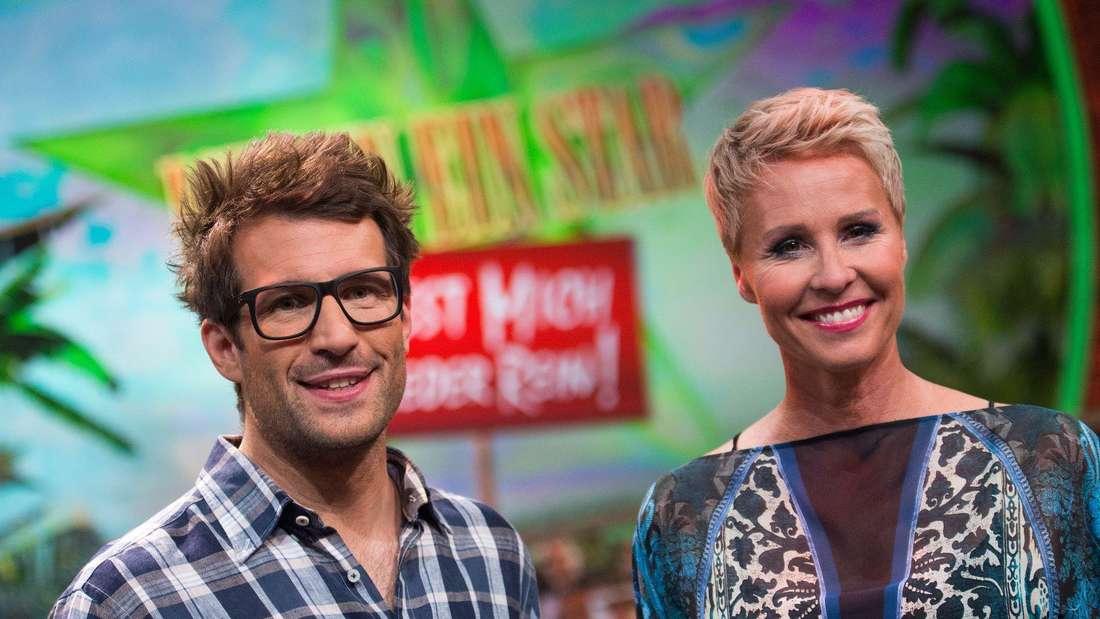 """Die Moderatoren von """"Ich bin ein Star - holt mich hier raus"""": Daniel Hartwich und Sonja Zietlow."""