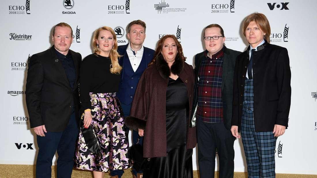Die Kelly Family beim Echo 2018