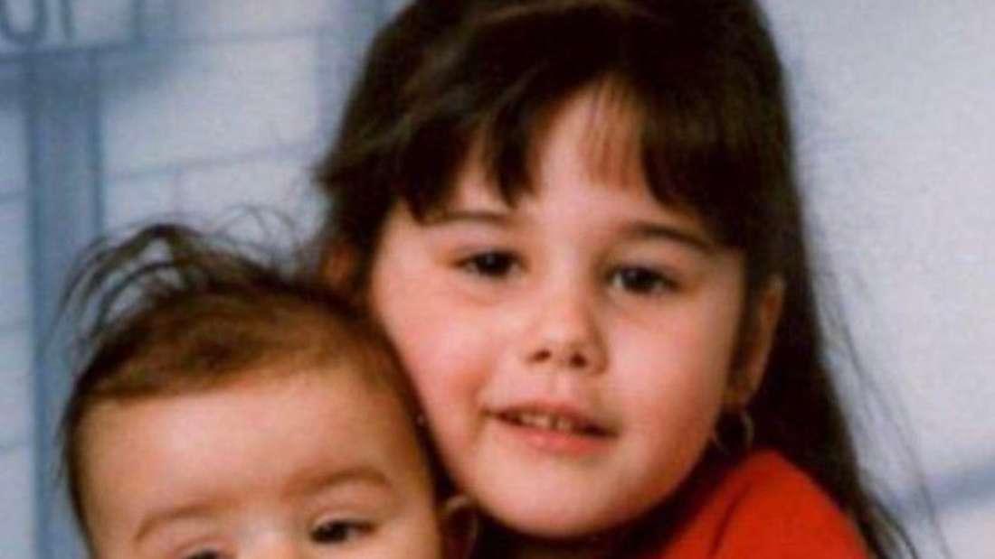 DSDS-Kandidatin Sarah Lombardi und ihr kleiner Bruder Gianluca als Kinder