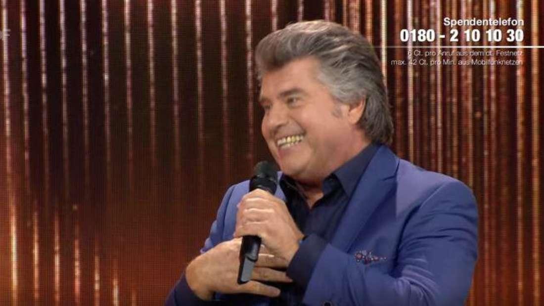 """Andy Borg nach seinem Auftritt in der Schlagershow """"Wilkommen bei Carmen Nebel"""" am Samstag, dem 19.09.2020 in Riesa."""