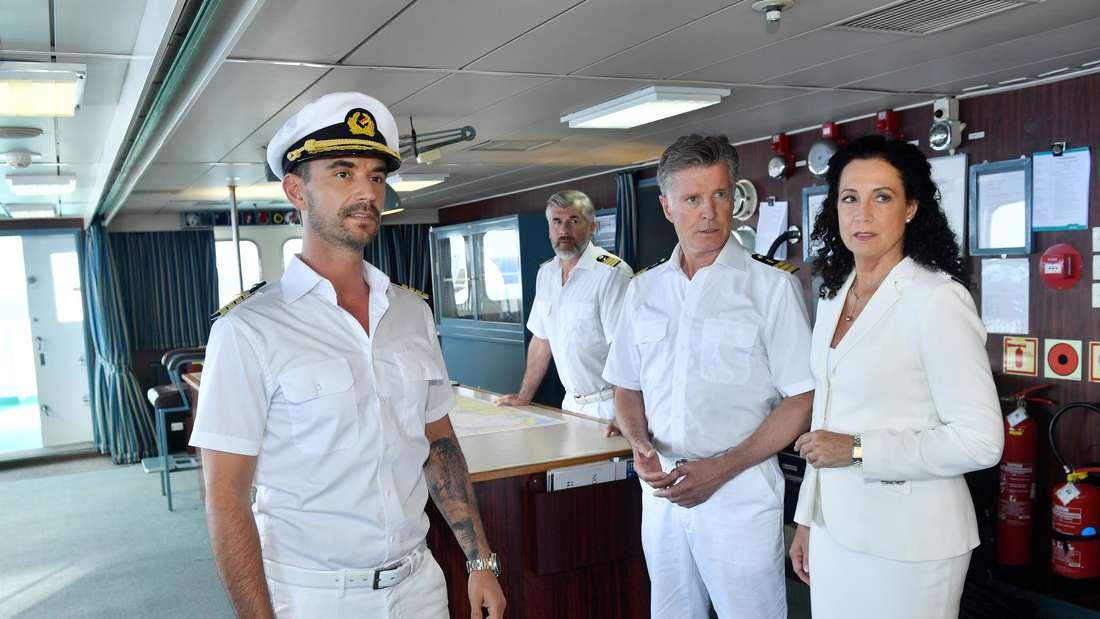Der neue Kapitän Max Parger: Florian Silbereisen startet 2019 seine TV-Karriere beim ZDF Traumschiff.