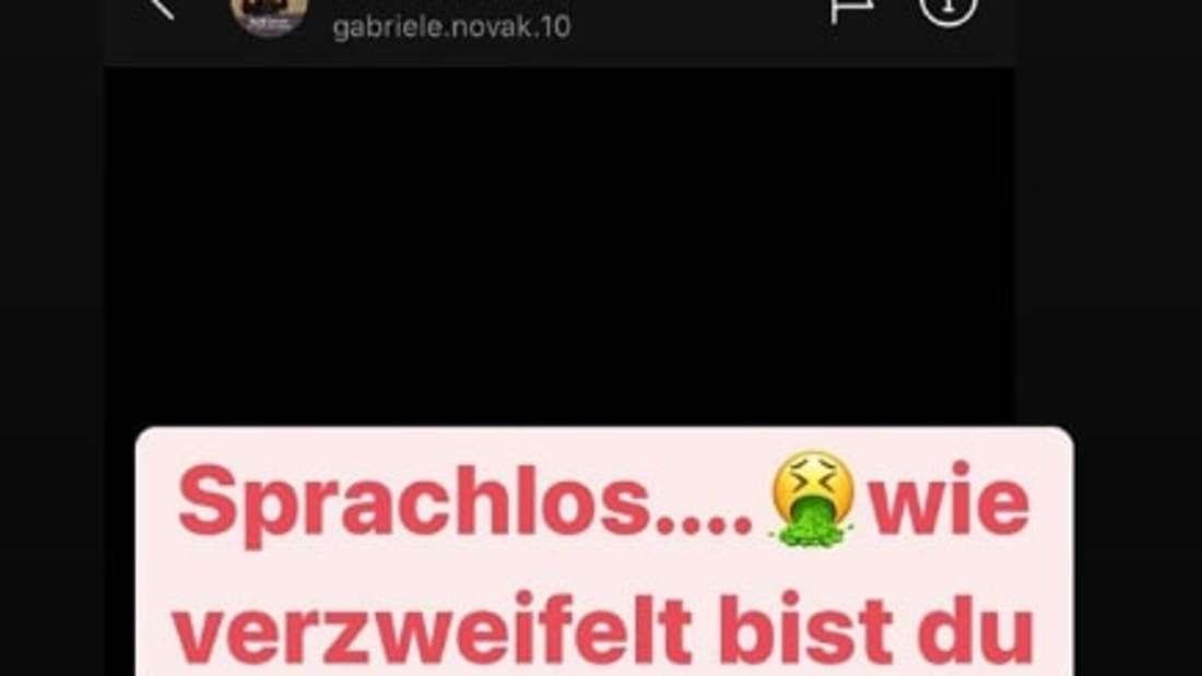 Eine Instagram-Nachricht von Danni Büchner
