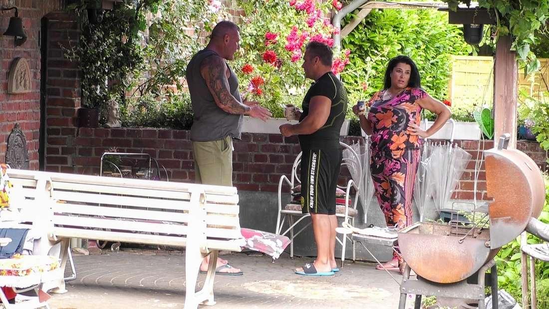 Iris und Peter Klein gehen bei Andreas Robens auf Konfrontations-Kurs.