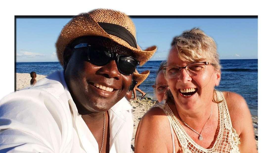 Goodbye Deutschland (Vox): Sonja Schröter (rechts) mit Junior am Strand