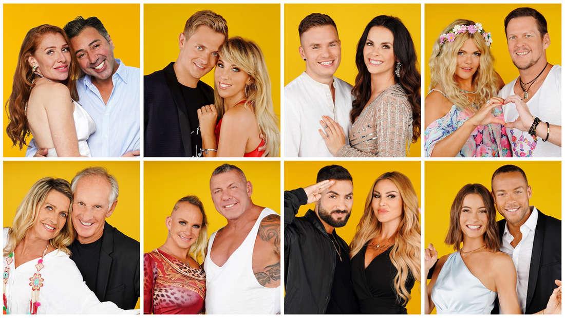 """Acht Promi-Paar von der 5. Staffel """"Sommerhaus der Stars"""""""