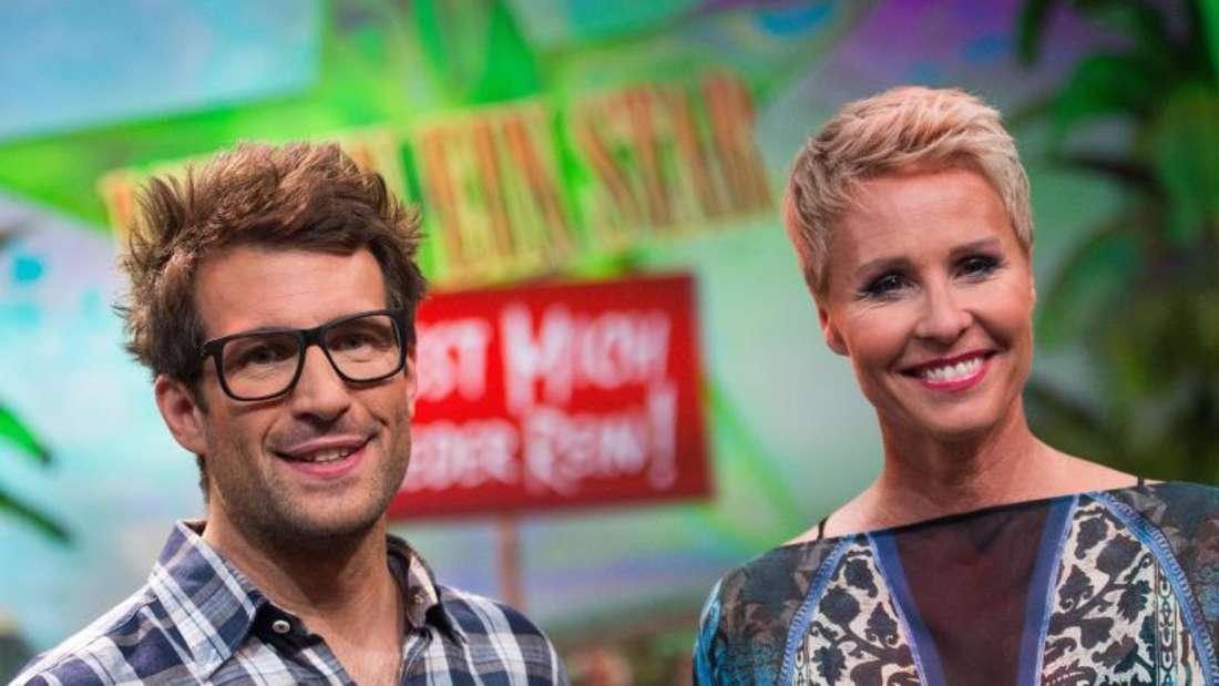 Sonja Zietlow und Daniel Hartwich werden wie gewohnt das «Dschungelcamp» moderieren. Foto: Marius Becker/dpa