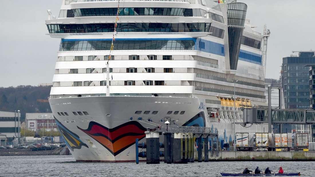 Das Schiff, von dem DSDS-Star Daniel Küblböck von Bord ging: Die AIDAluna.