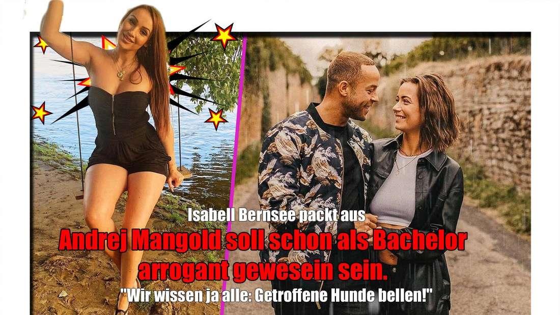 Isabell Bernsee packt nun über Andrej Mangold aus.