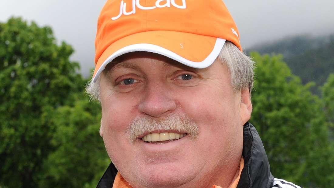 """Klaus Baumgart vom Duo """"Klaus&Klaus"""" am 01.06.2012 beim Golf Magazin Charity Cup 2012 im Golfclub Wilder Kaiser in Ellmau"""
