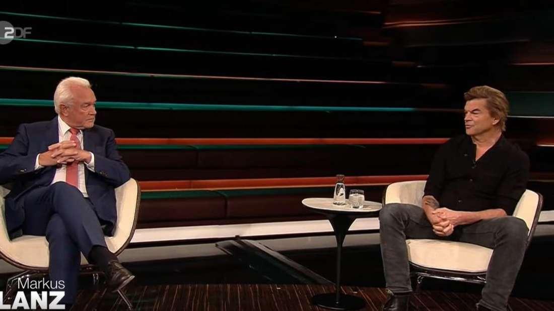 FDP-Politiker Wolfgang Kubicki und Die Toten Hosen-Sänger Campino bei Markus Lanz