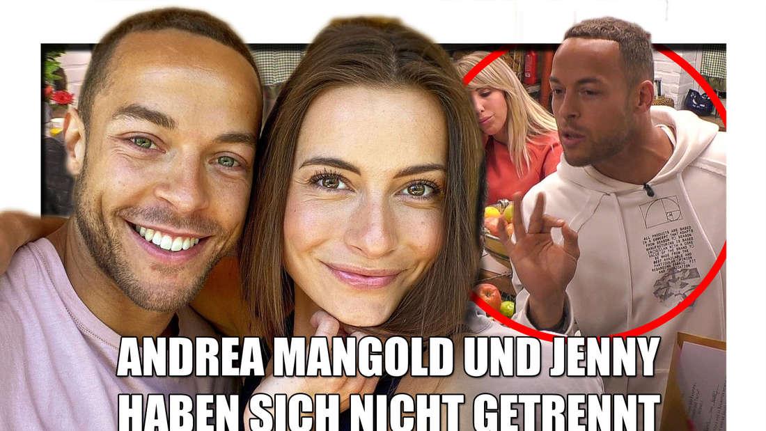 Gab es eine Trennung bei Andrej Mangold und Jenny? Nein, aber die beiden ziehen nunnach Mallorca.