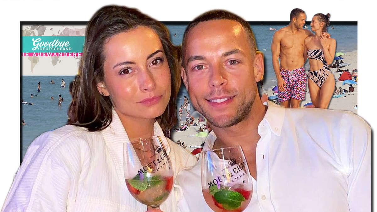 """Andrej Mangold und Jenny Lange bei """"Goodbye Deutschland""""? Bachelor-Paar zieht angeblich nach Mallorca"""