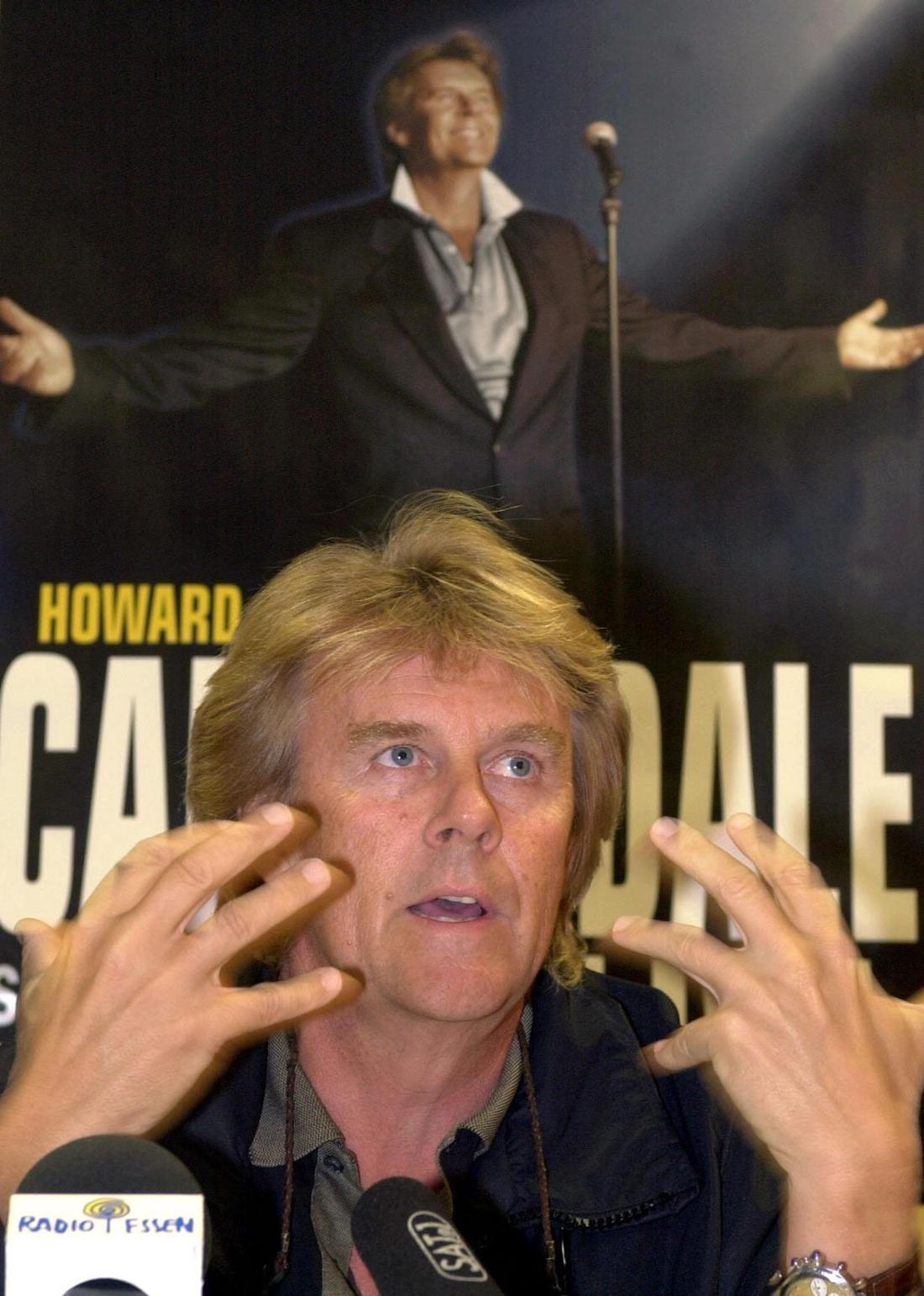 Howard Carpendale erzählt von seinem Konzert bei einer Pressekonferenz