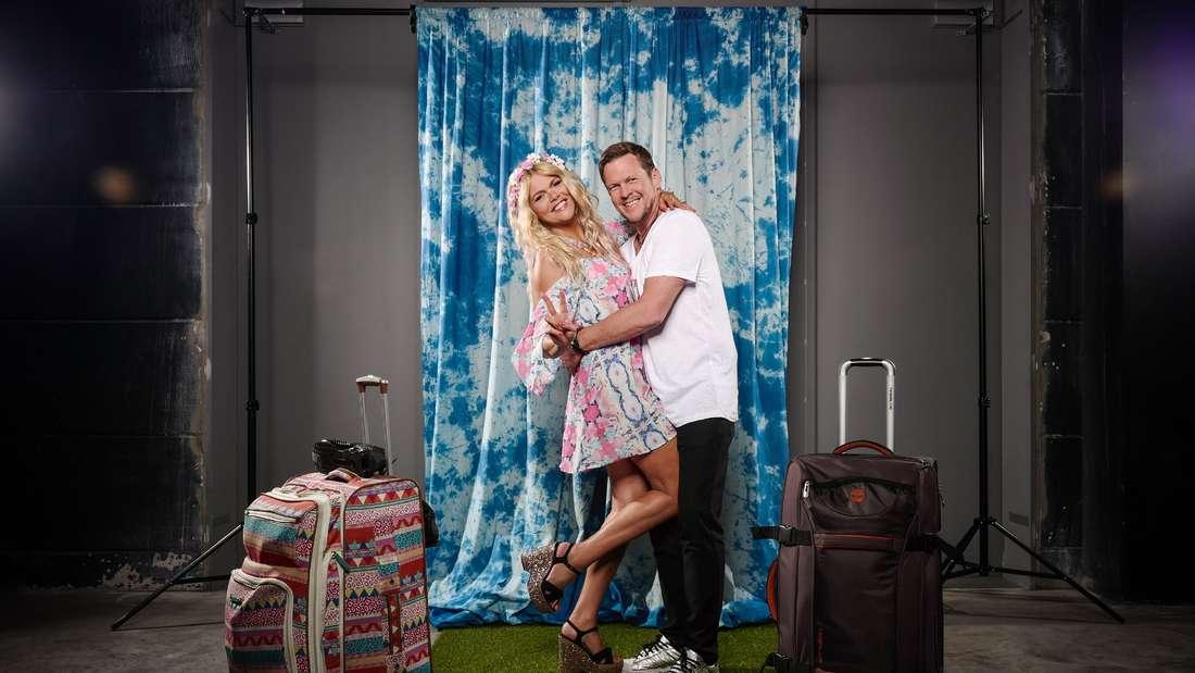Diana Herold und Michael Tomaschautzki lächeln in die Kamera