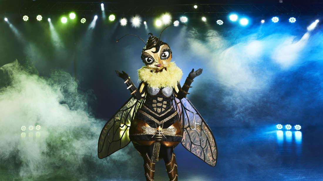 """Die Biene steht auf der """"The Masked Singer""""-Bühne"""