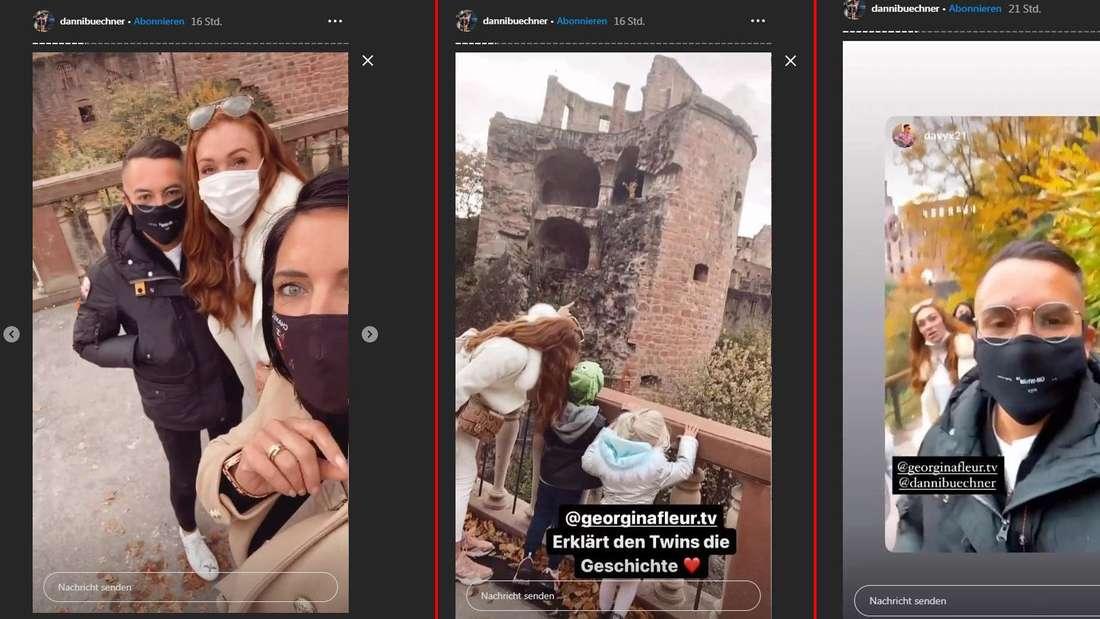 Danni Büchner postete das Treffen mit Georgina Fleur bei Instagram.