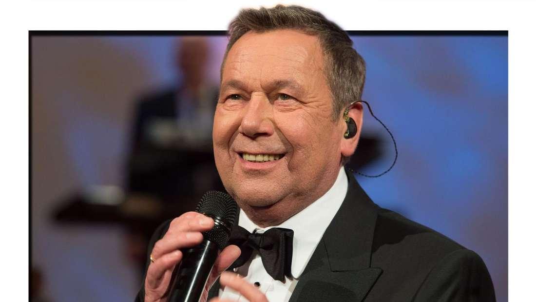 Roland Kaiser am 31.01.2015 auf dem 10. Semperopernball in der Semperoper in Dresden (Fotomontage)