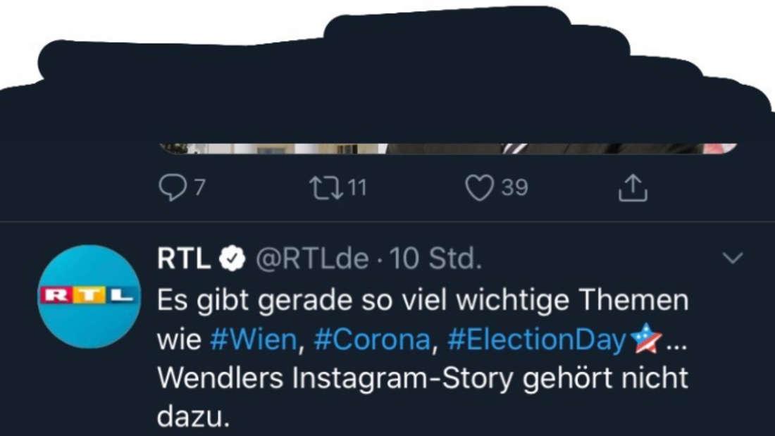 RTL postet ein Statement auf Twitter