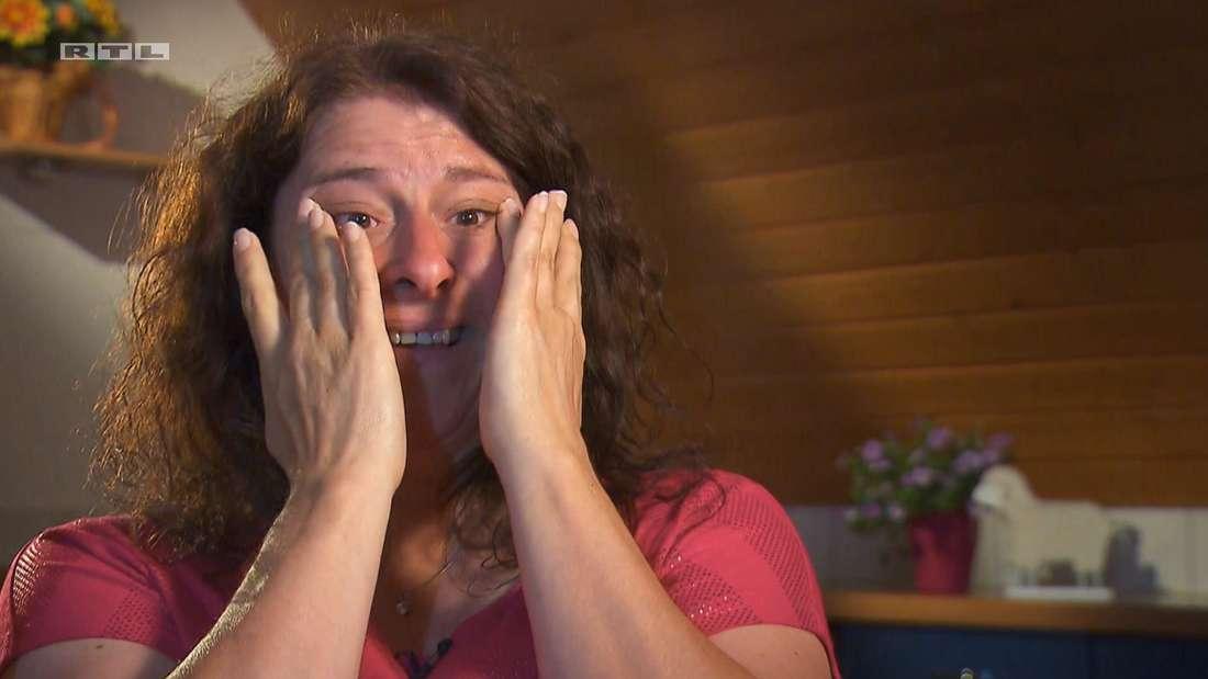Bianca weint im Einzelinterview