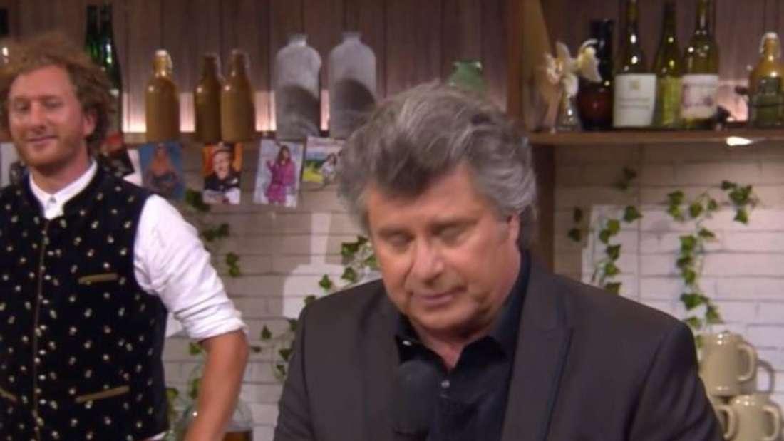 """Andy Borg in der Show """"Schlagerspaß mit Andy Borg"""""""