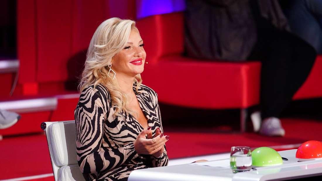 """Evelyn Burdecki lacht bei """"Das Supertalent"""""""