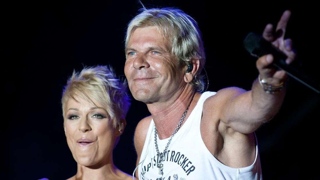 Schlagerstar Michelle mit ihrem Ex-Mann Matthias Reim