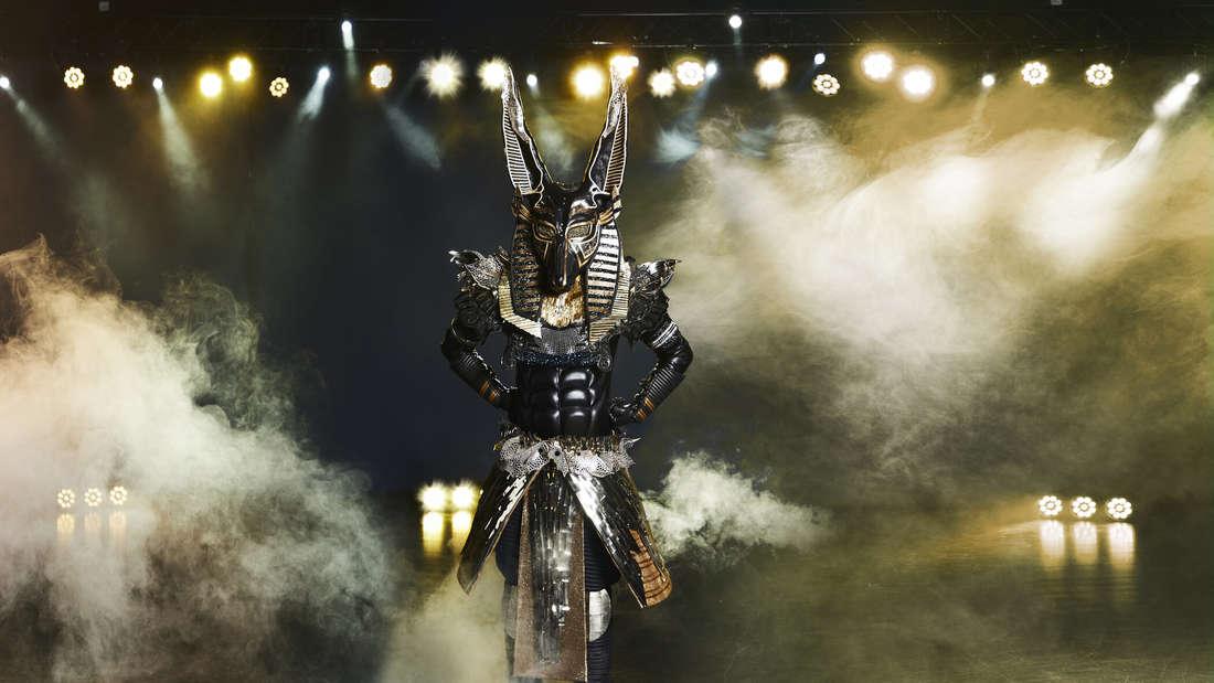 """Der Anubis steht auf der """"The Masked Singer""""-Bühne"""