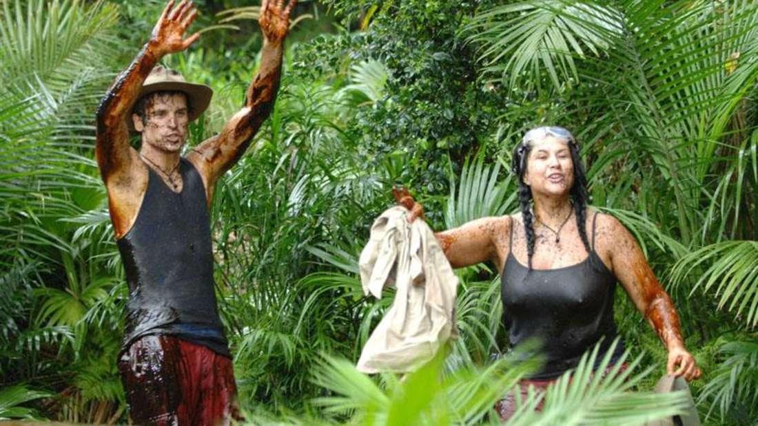 Iris Klein im Dschungelcamp