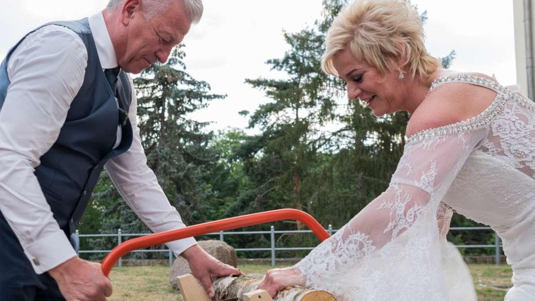 Hochzeit auf den ersten Blick: Wiebke und Norbert stößt auf erste Konflikte