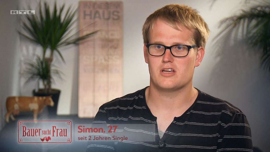 """Der schüchterne Milchviehbauer Simon (27) startet in Folge 5 von """"Bauer sucht Frau"""" 2020 sein Liebesabenteuer."""