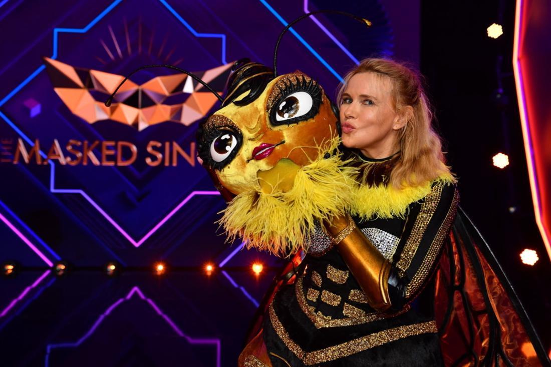 Veronica Ferres steckte unter dem Bienenkostüm bei The Masked Singer.