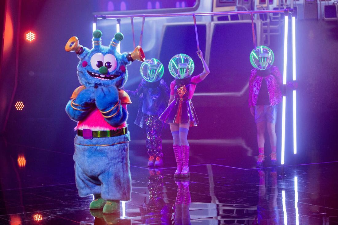 """Das flauschige Alien bei """"The Masked Singer"""" gehört zu den beliebtesten Kostümen und Performern."""