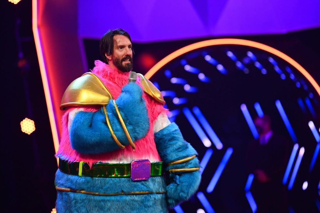 Alec Völkel im Kostüm des flauschigen Aliens