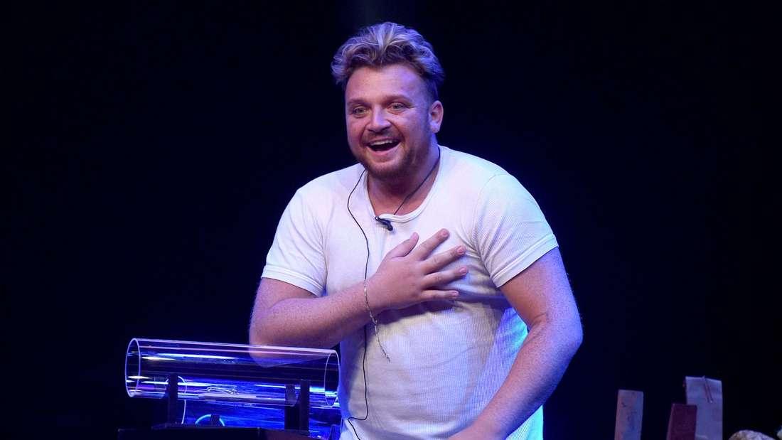 """Menowin Fröhlich bei der TV-Show """"Big Brother"""""""