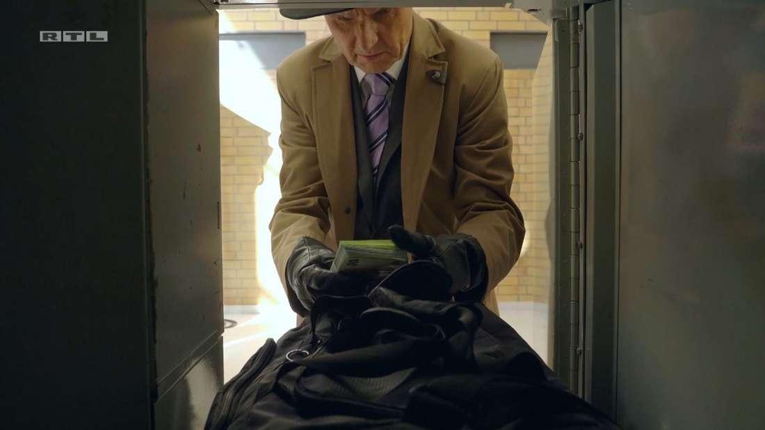 Jo Gerner findet das Lösegeld in einem Schließfach