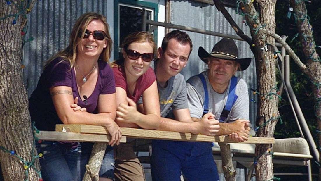 Manu, Janina, Jason und Konny Reimann 2011