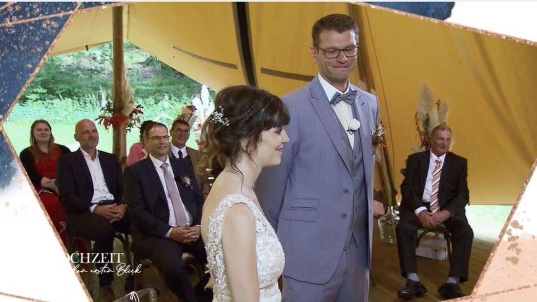 Hochzeit auf den ersten Blick: Manuel und Annika lassen sich trauen