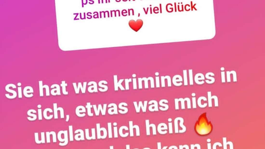 Screenshot aus der Instagram-Story von Ennesto