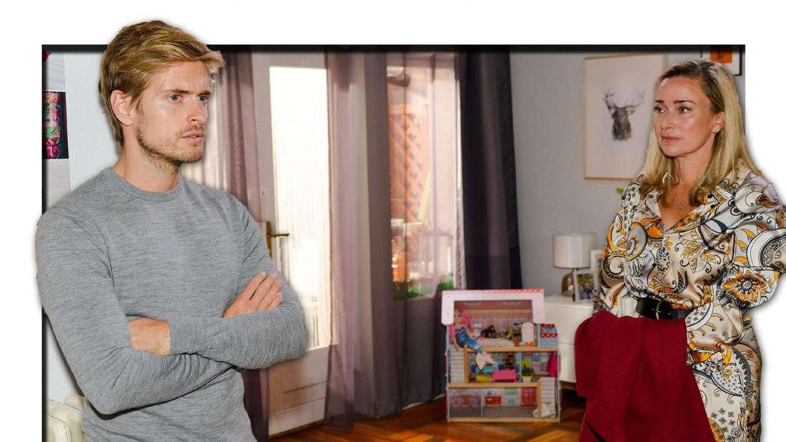 GZSZ am Montag: Philip hat die Nase voll - Er erteilt Patrizia eine knallharte Abfuhr