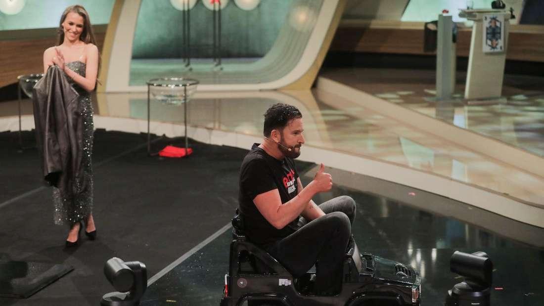 Michael Wendler mit Laura Müller in einer RTL-Show